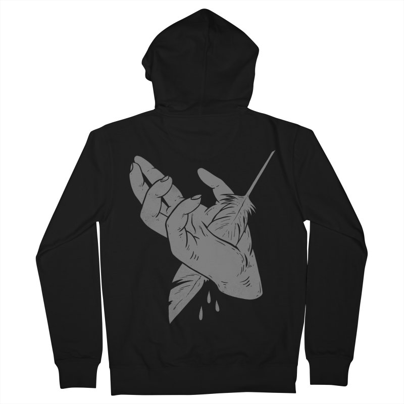 KILLING ME SOFTLY Women's Zip-Up Hoody by lostomatos's Artist Shop