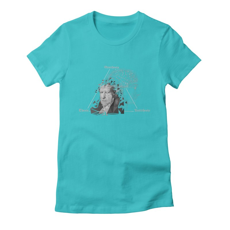 The Legacy of Hegel Women's Fitted T-Shirt by lostsigil's Artist Shop