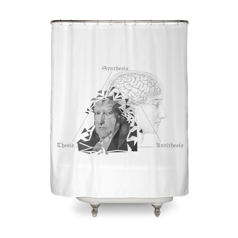 The Legacy of Hegel Home Shower Curtain by lostsigil's Artist Shop