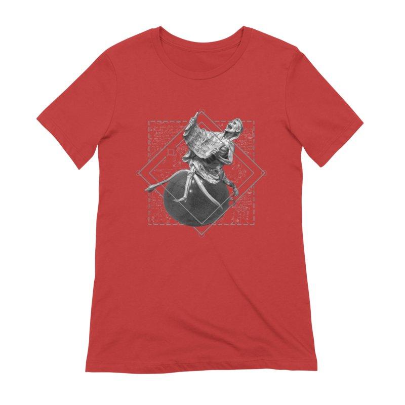 Memento Mori Women's Extra Soft T-Shirt by lostsigil's Artist Shop