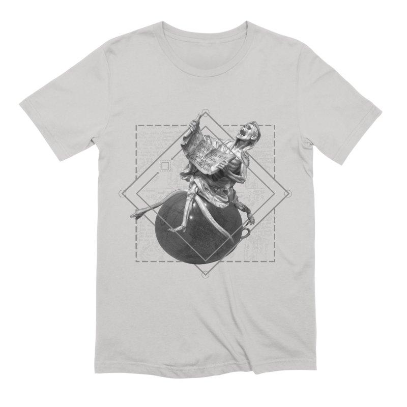 Memento Mori Men's Extra Soft T-Shirt by lostsigil's Artist Shop
