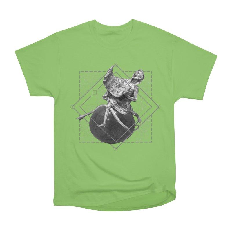 Memento Mori Women's Heavyweight Unisex T-Shirt by lostsigil's Artist Shop