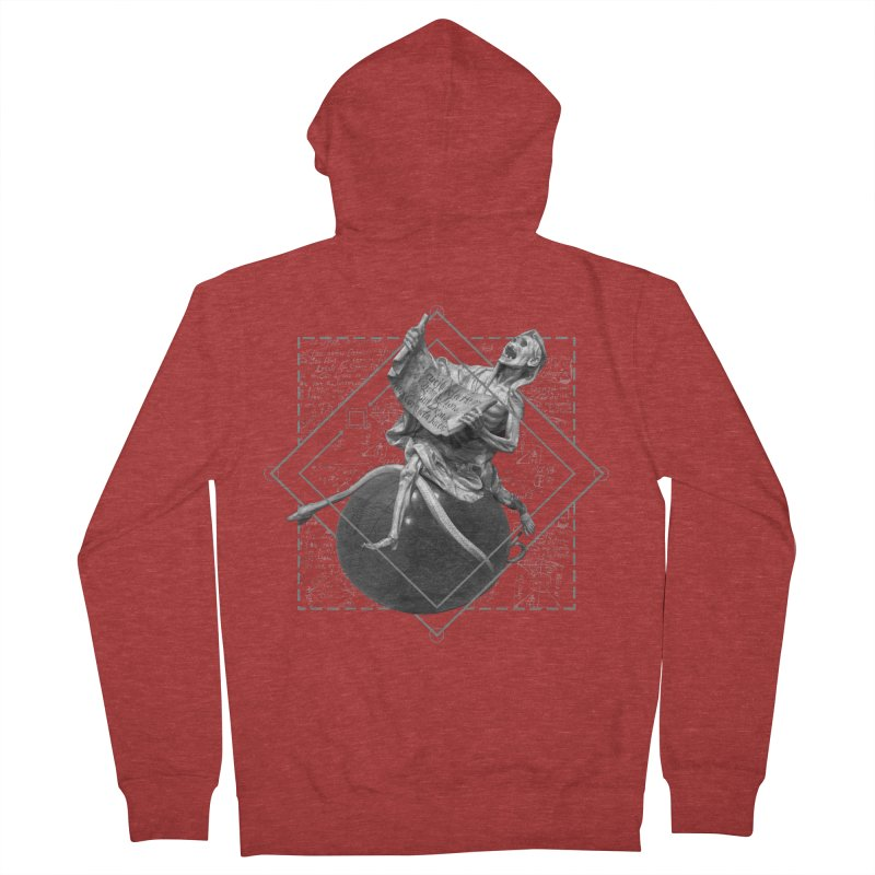 Memento Mori Women's French Terry Zip-Up Hoody by lostsigil's Artist Shop