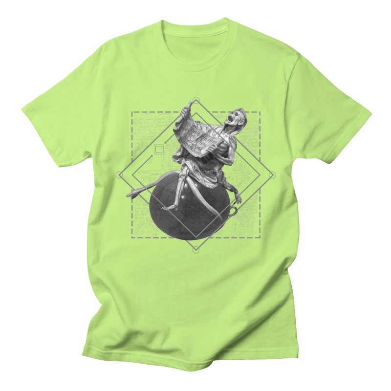 Memento Mori Men's Regular T-Shirt by lostsigil's Artist Shop