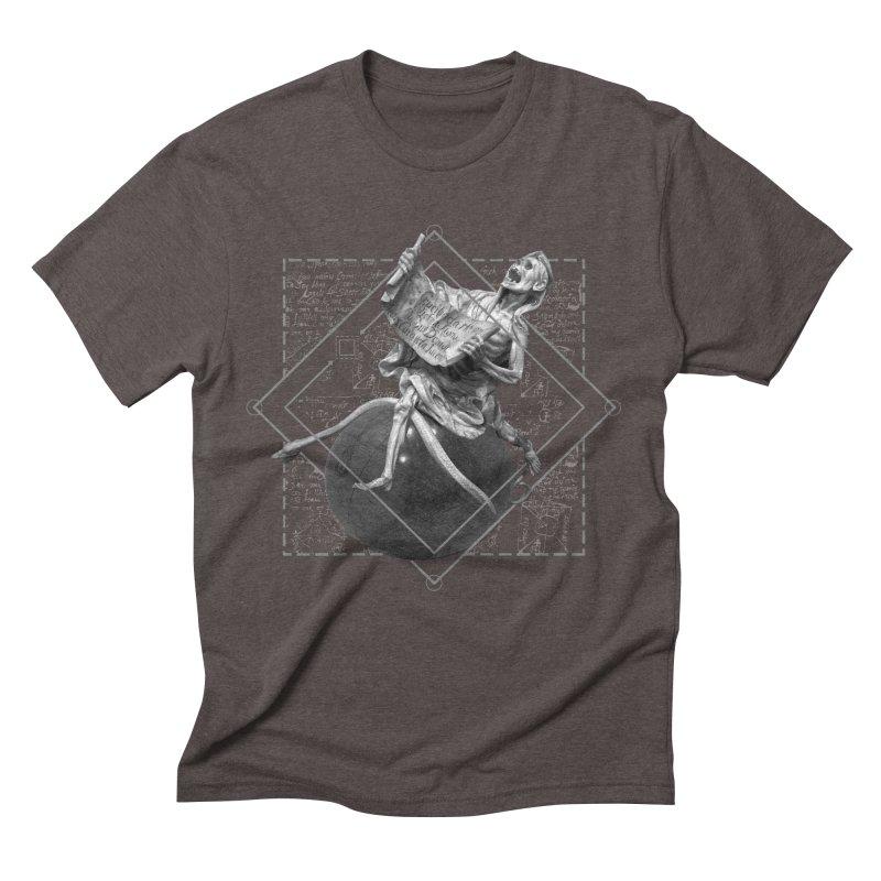 Memento Mori Men's Triblend T-Shirt by lostsigil's Artist Shop
