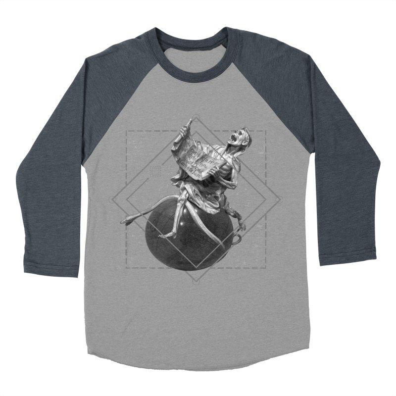 Memento Mori Women's Baseball Triblend Longsleeve T-Shirt by lostsigil's Artist Shop