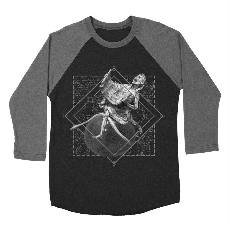 Memento Mori Men's Baseball Triblend Longsleeve T-Shirt by lostsigil's Artist Shop
