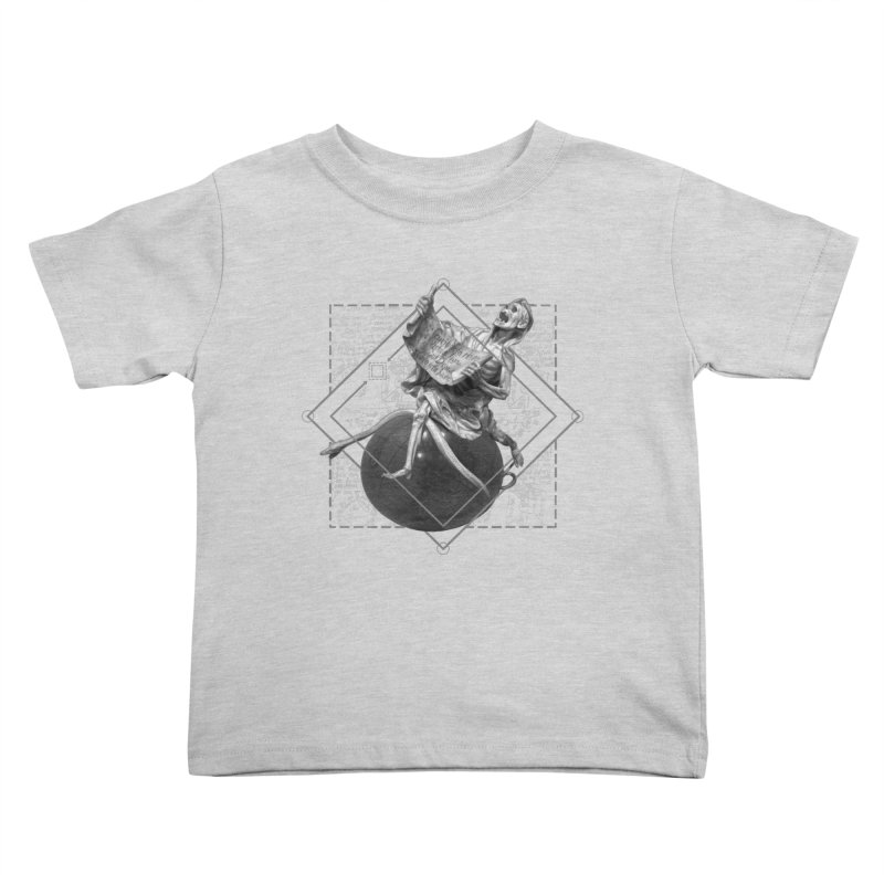 Memento Mori Kids Toddler T-Shirt by lostsigil's Artist Shop