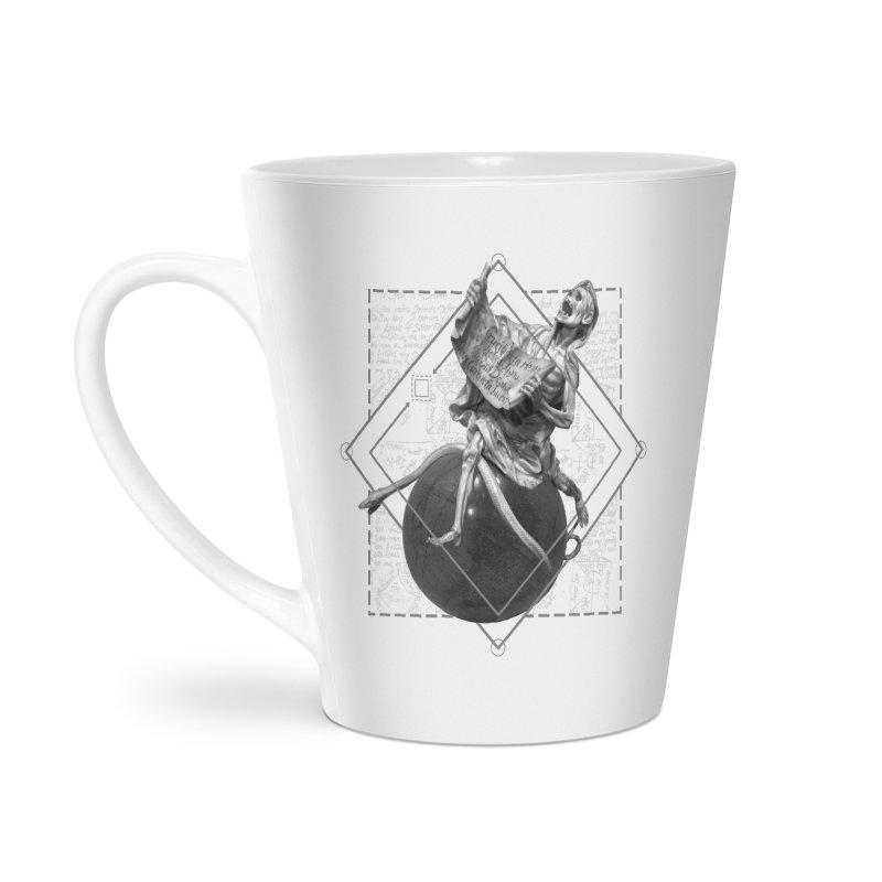 Memento Mori Accessories Latte Mug by lostsigil's Artist Shop