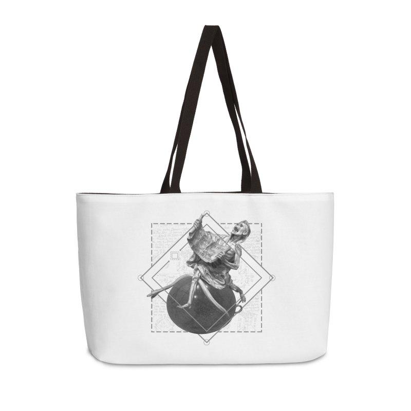 Memento Mori Accessories Weekender Bag Bag by lostsigil's Artist Shop