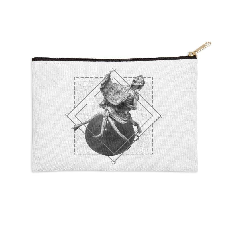 Memento Mori Accessories Zip Pouch by lostsigil's Artist Shop