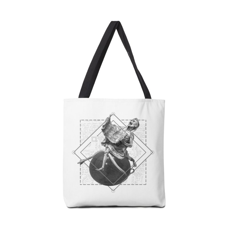 Memento Mori Accessories Tote Bag Bag by lostsigil's Artist Shop