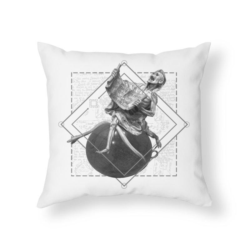 Memento Mori Home Throw Pillow by lostsigil's Artist Shop