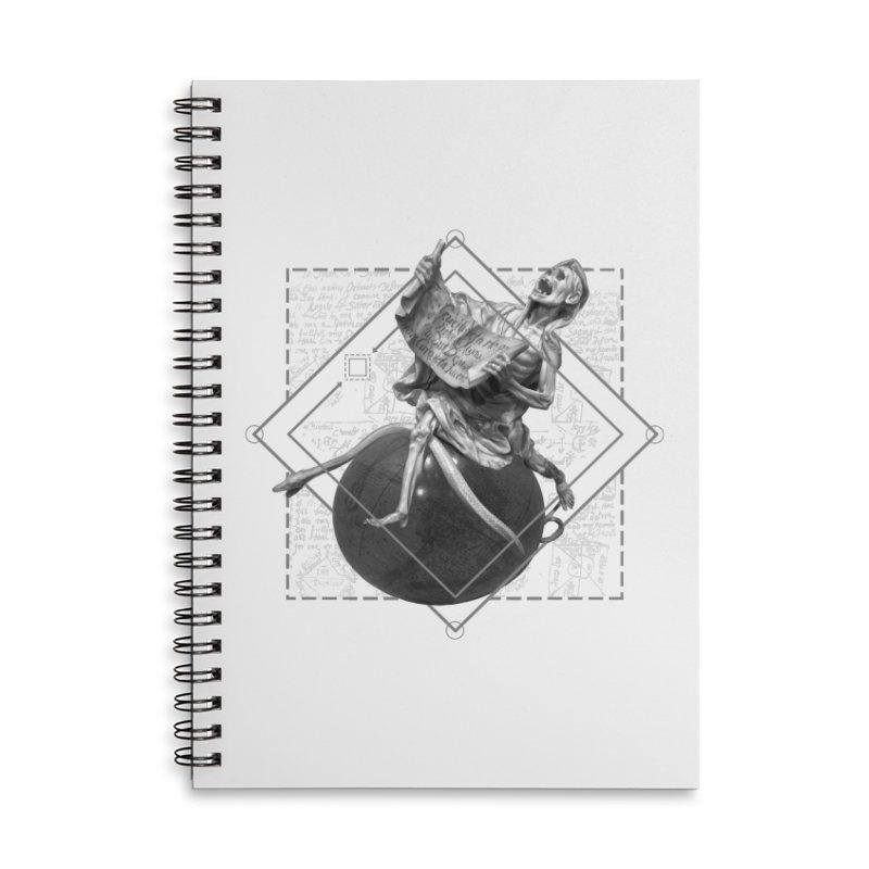 Memento Mori Accessories Lined Spiral Notebook by lostsigil's Artist Shop