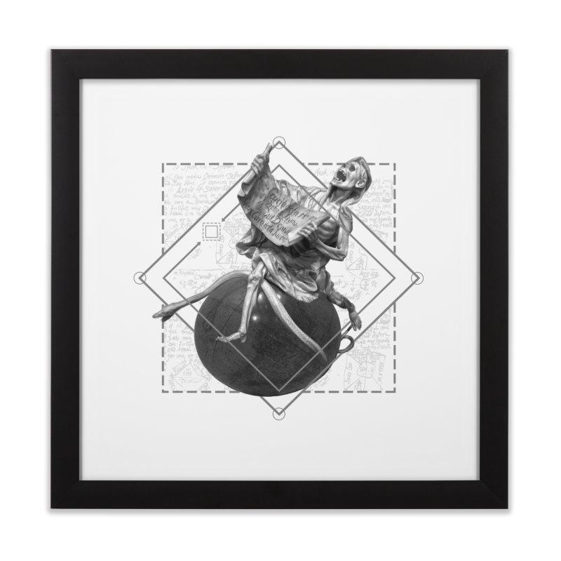 Memento Mori Home Framed Fine Art Print by lostsigil's Artist Shop