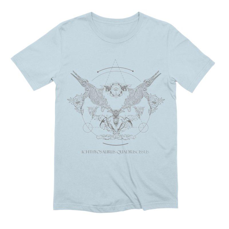 Ichthyosaurus Occultis Men's Extra Soft T-Shirt by lostsigil's Artist Shop