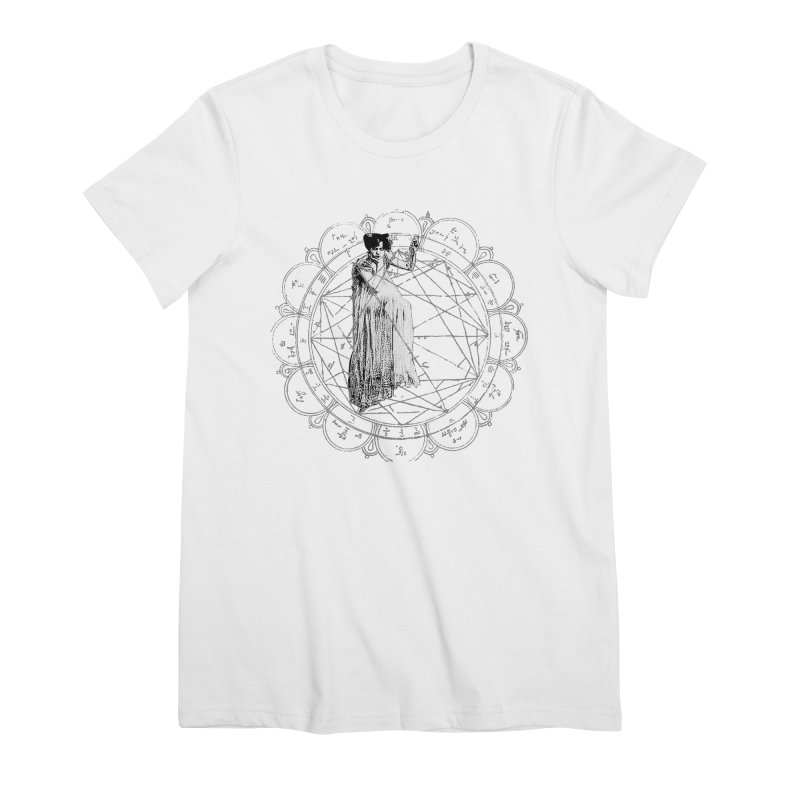 The Bane of the Spider Queen Occult Women's Premium T-Shirt by lostsigil's Artist Shop