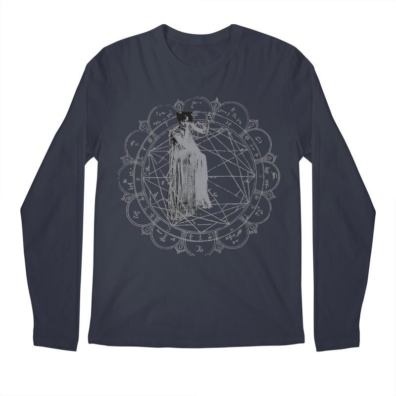 The Bane of the Spider Queen Occult Men's Regular Longsleeve T-Shirt by lostsigil's Artist Shop