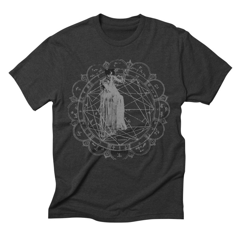 The Bane of the Spider Queen Occult Men's Triblend T-Shirt by lostsigil's Artist Shop
