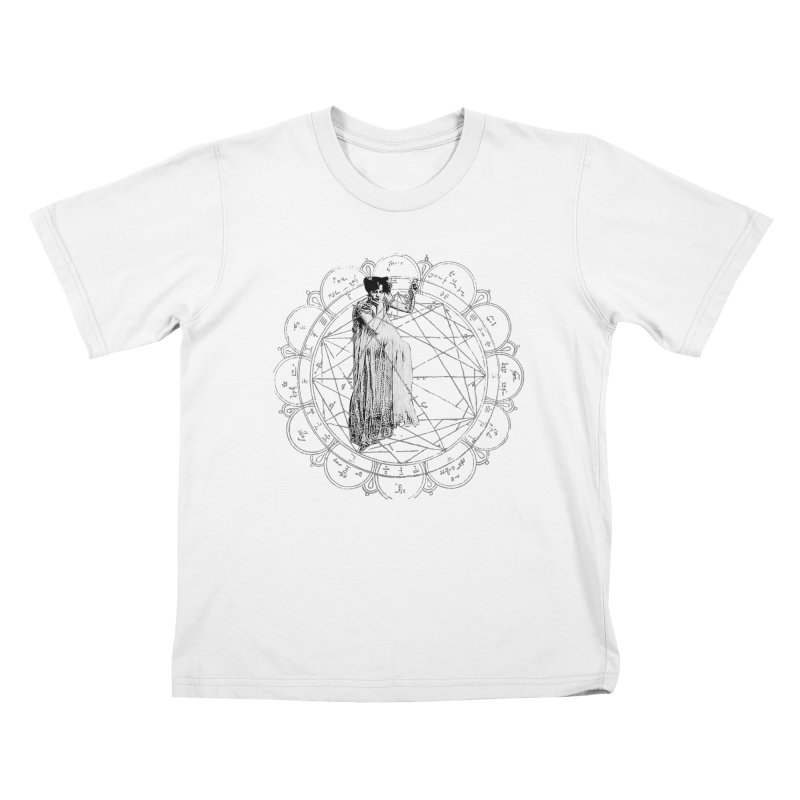 The Bane of the Spider Queen Occult Kids T-Shirt by lostsigil's Artist Shop