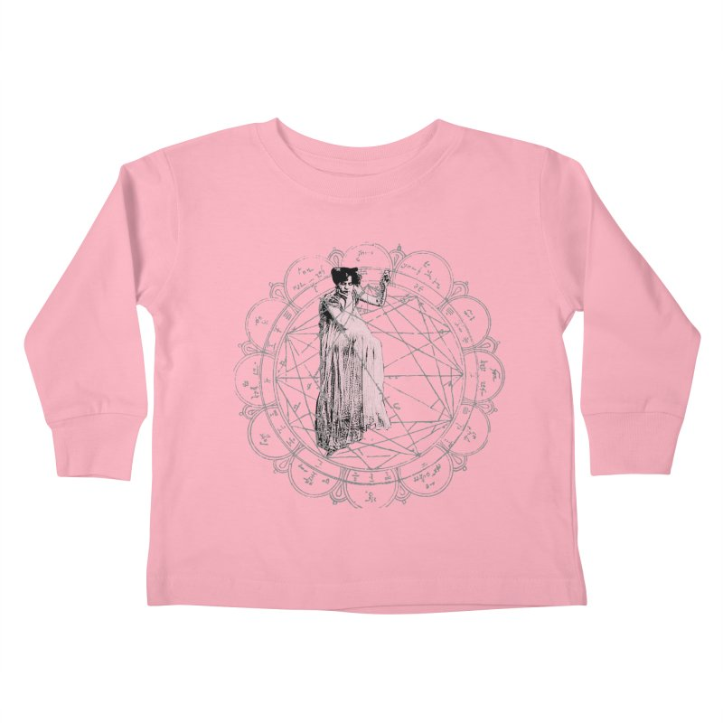 The Bane of the Spider Queen Occult Kids Toddler Longsleeve T-Shirt by lostsigil's Artist Shop