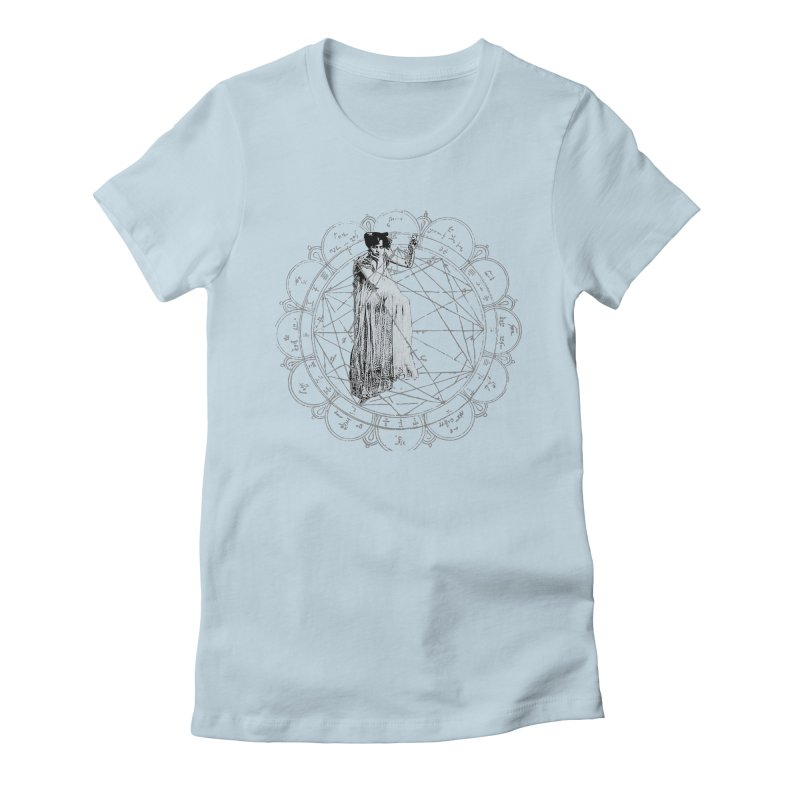 The Bane of the Spider Queen Occult Women's Fitted T-Shirt by lostsigil's Artist Shop