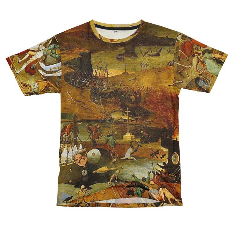 Vivid Retro - The Triumph of Death Women's Unisex T-Shirt Cut & Sew by lostsigil's Artist Shop