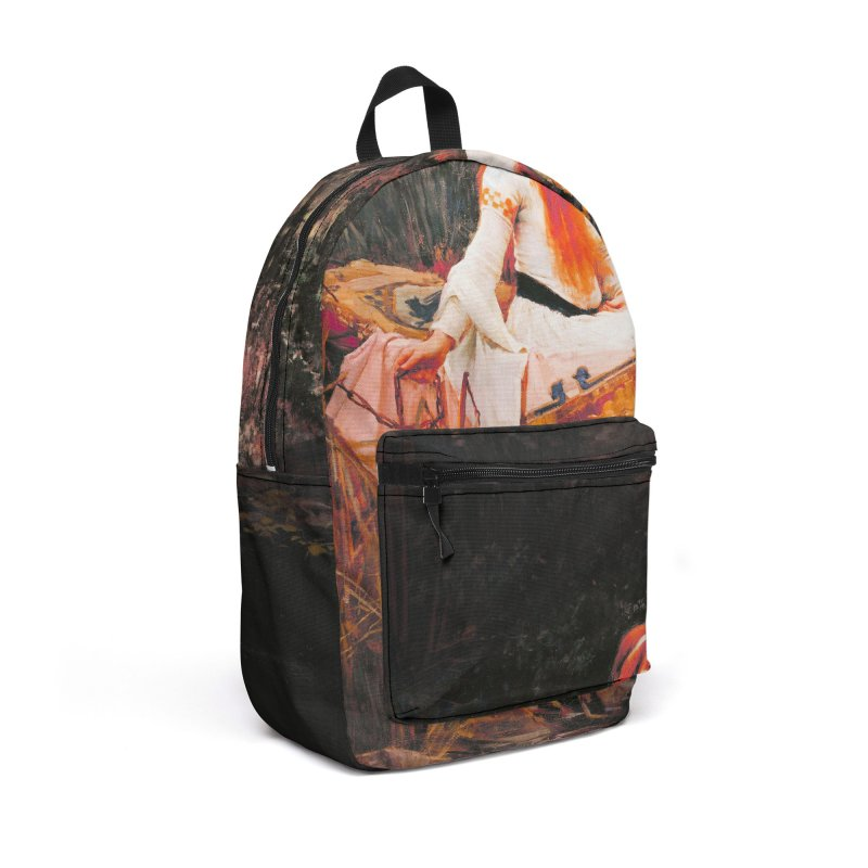 Vivid Retro - The Lady of Shalott Accessories Backpack Bag by lostsigil's Artist Shop