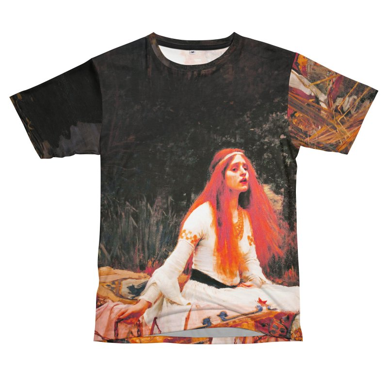 Vivid Retro - The Lady of Shalott Women's Unisex T-Shirt Cut & Sew by lostsigil's Artist Shop