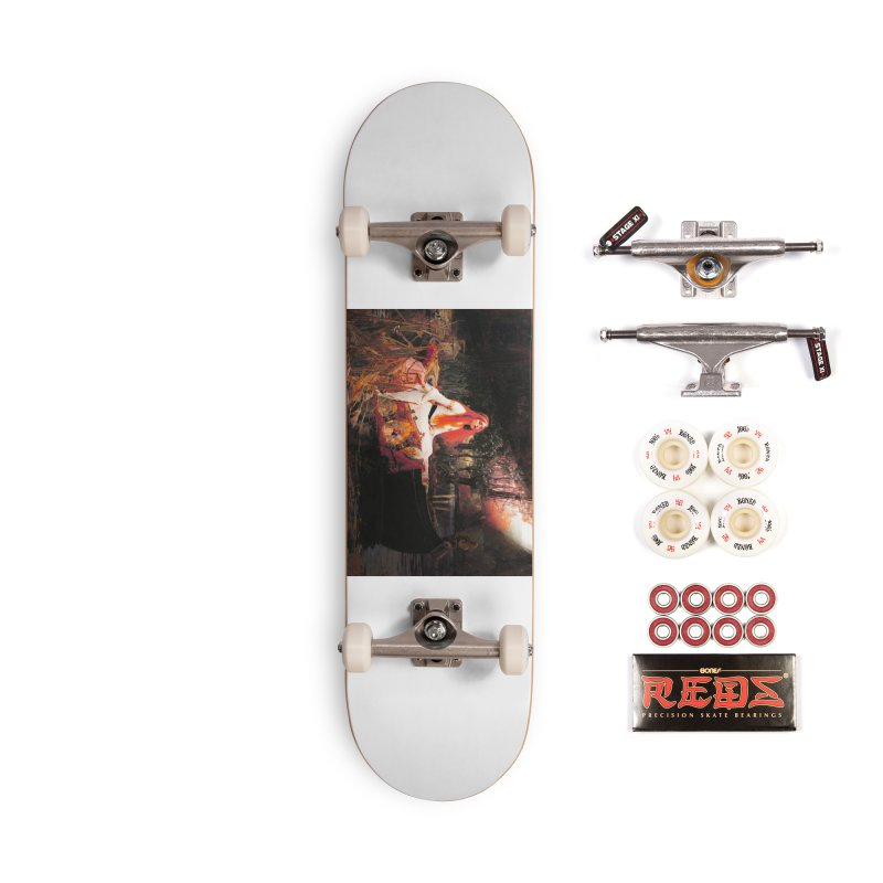 Vivid Retro - The Lady of Shalott Accessories Complete - Pro Skateboard by lostsigil's Artist Shop