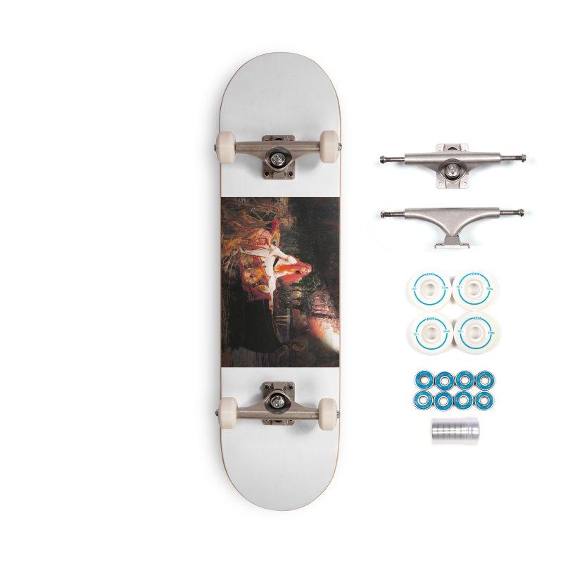 Vivid Retro - The Lady of Shalott Accessories Complete - Basic Skateboard by lostsigil's Artist Shop