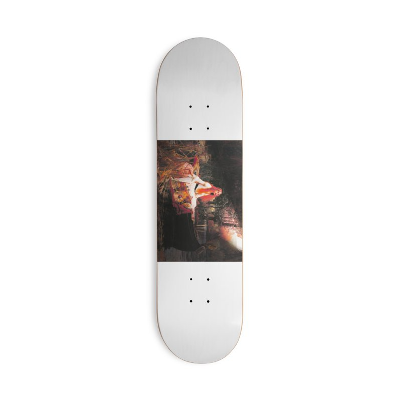 Vivid Retro - The Lady of Shalott Accessories Deck Only Skateboard by lostsigil's Artist Shop