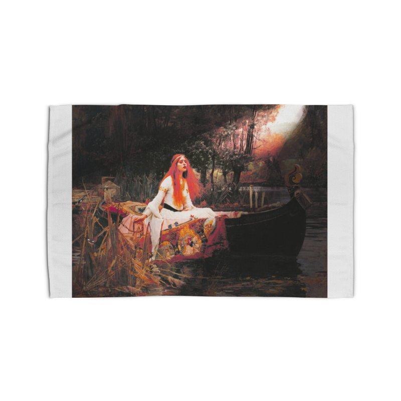 Vivid Retro - The Lady of Shalott Home Rug by lostsigil's Artist Shop