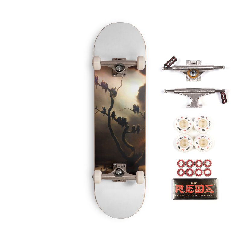 Vivid Retro - Ghosts in a Tree Accessories Complete - Pro Skateboard by lostsigil's Artist Shop