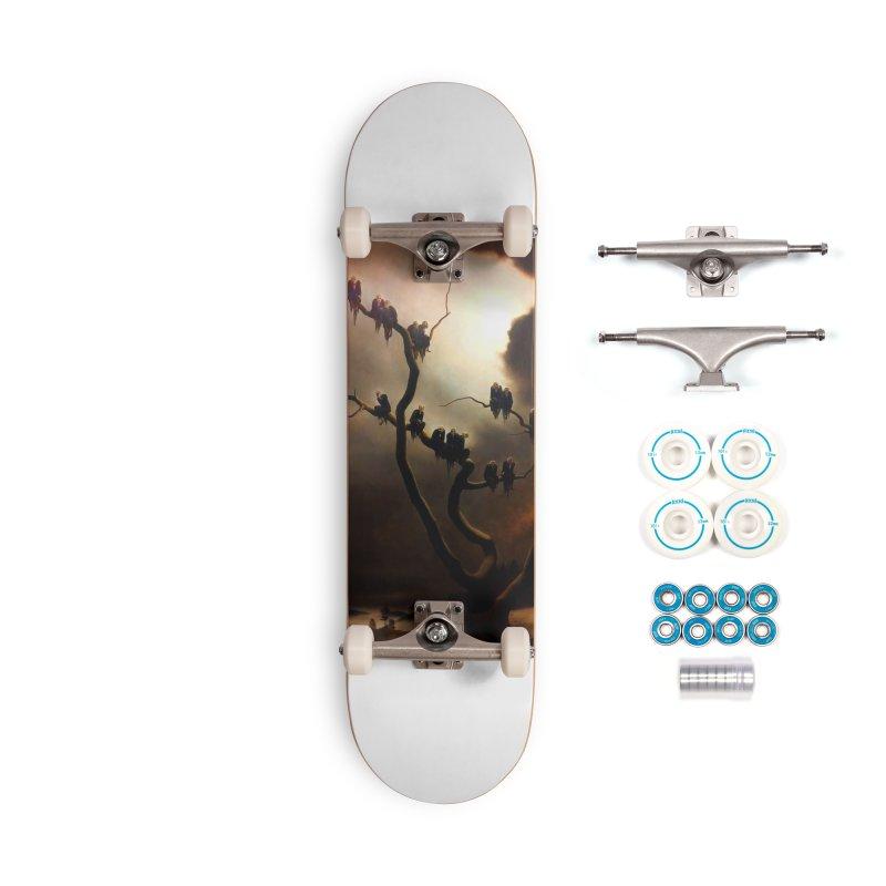 Vivid Retro - Ghosts in a Tree Accessories Complete - Basic Skateboard by lostsigil's Artist Shop