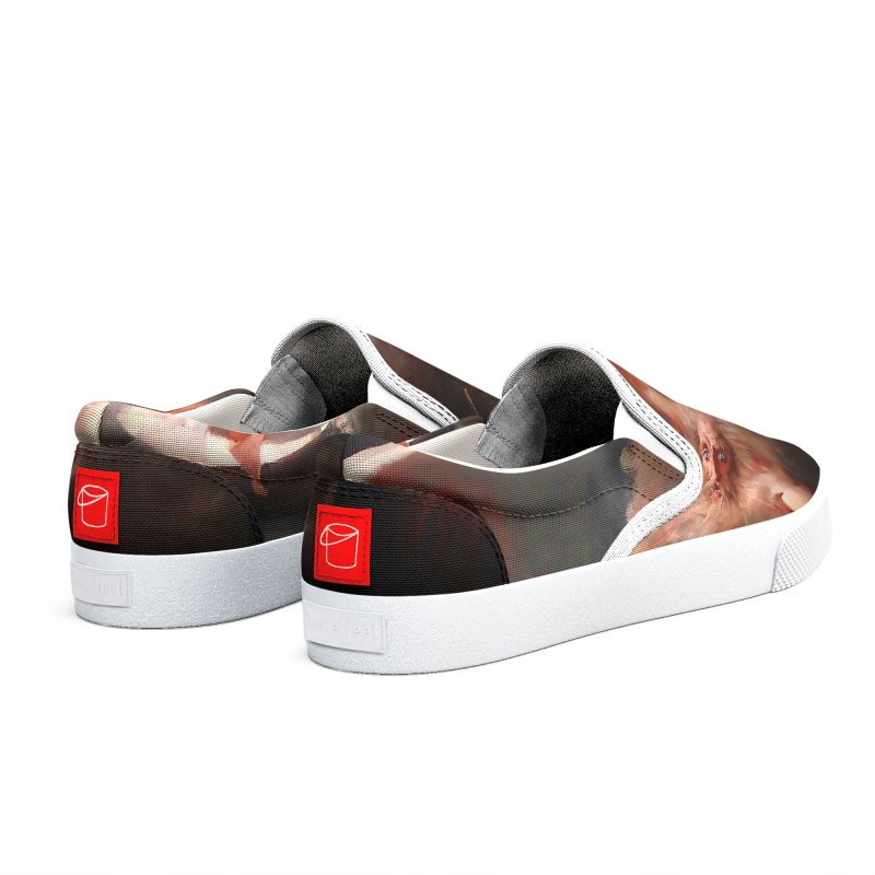 Vivid Retro - The Spirit of the New Moon Men's Shoes by lostsigil's Artist Shop