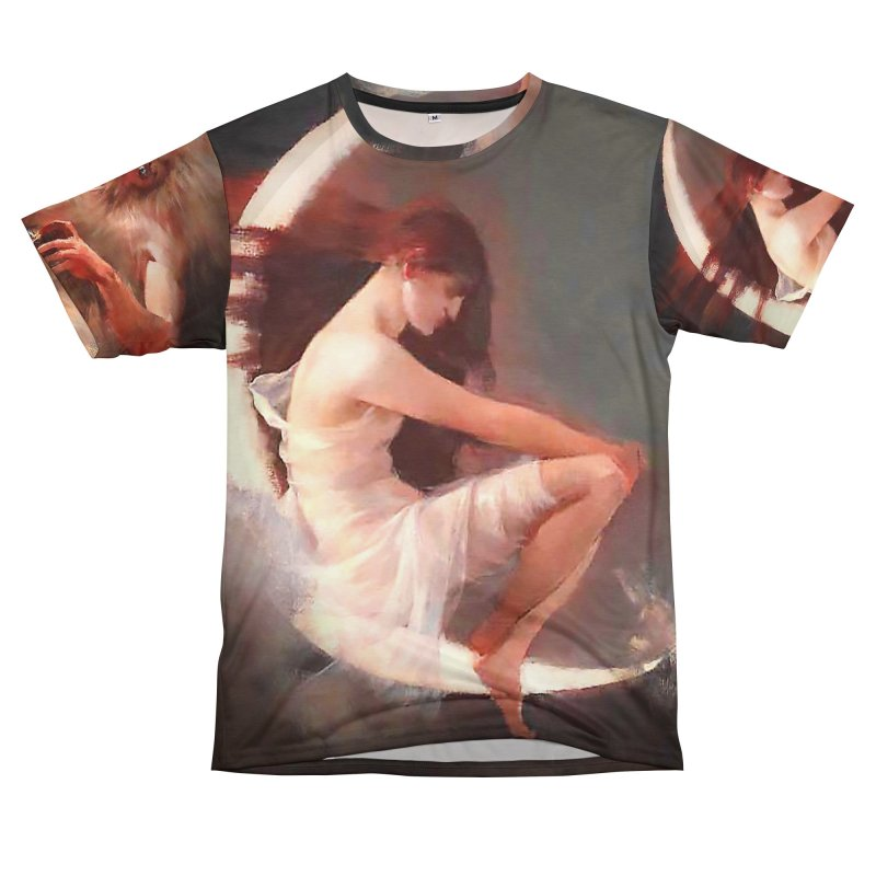 Vivid Retro - The Spirit of the New Moon Men's Cut & Sew by lostsigil's Artist Shop