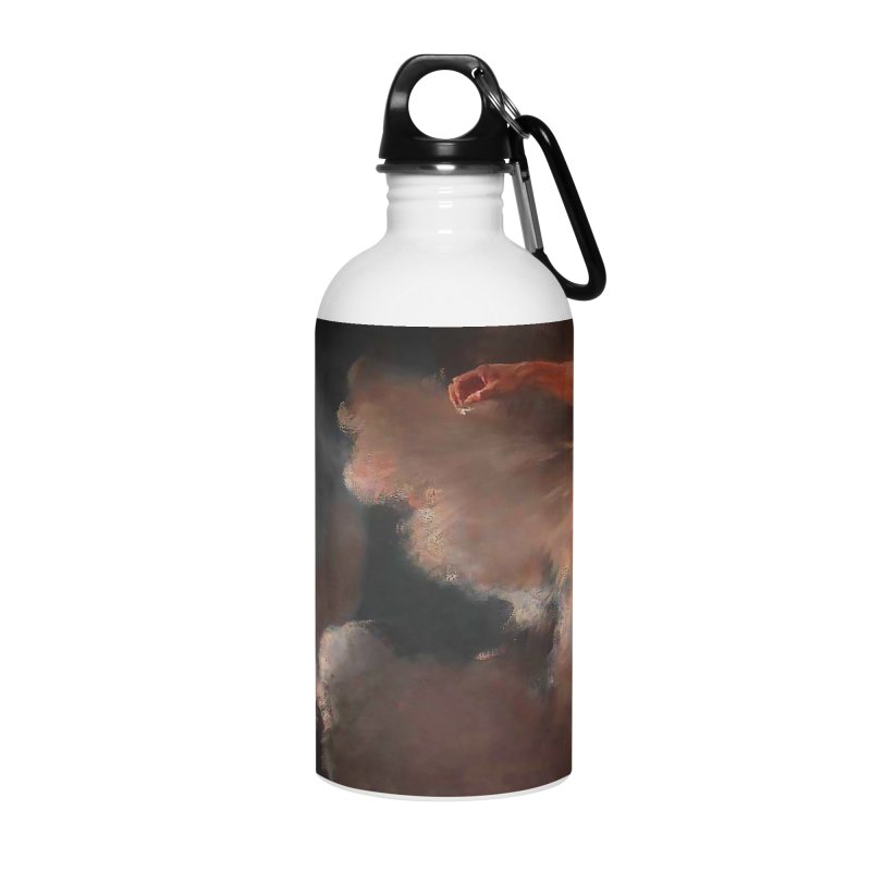 Vivid Retro - The Spirit of the New Moon Accessories Water Bottle by lostsigil's Artist Shop