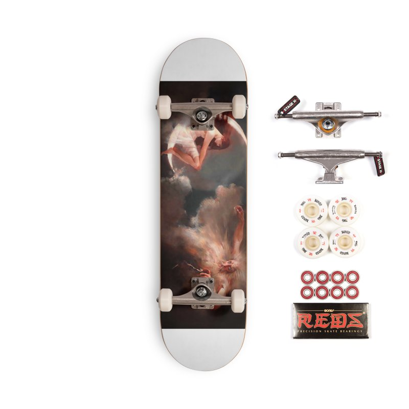 Vivid Retro - The Spirit of the New Moon Accessories Complete - Pro Skateboard by lostsigil's Artist Shop