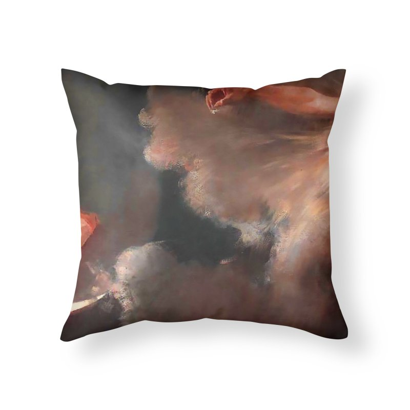 Vivid Retro - The Spirit of the New Moon Home Throw Pillow by lostsigil's Artist Shop