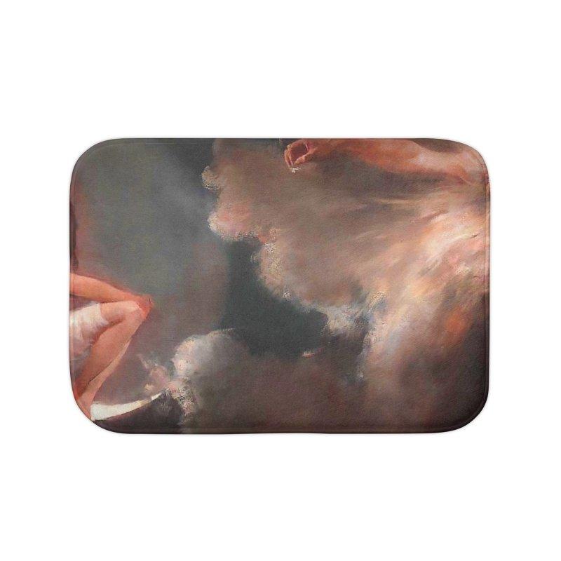 Vivid Retro - The Spirit of the New Moon Home Bath Mat by lostsigil's Artist Shop