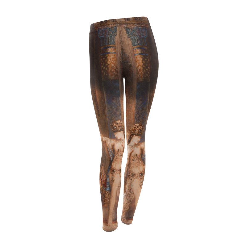Vivid Retro - The Apparition Women's Leggings Bottoms by lostsigil's Artist Shop