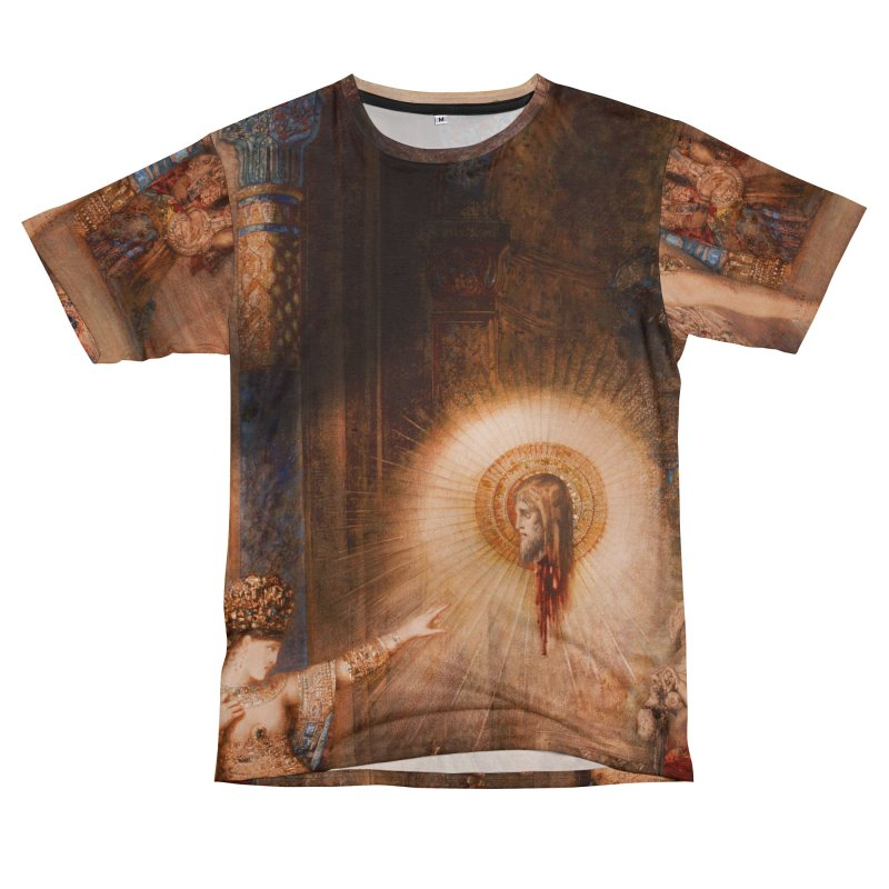 Vivid Retro - The Apparition Women's Unisex T-Shirt Cut & Sew by lostsigil's Artist Shop