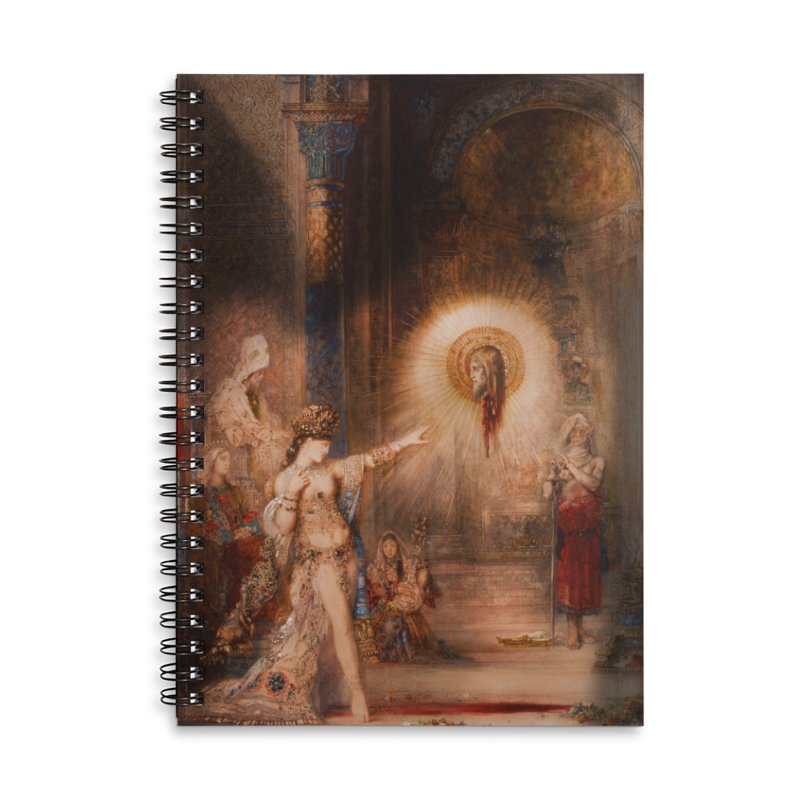 Vivid Retro - The Apparition Accessories Lined Spiral Notebook by lostsigil's Artist Shop