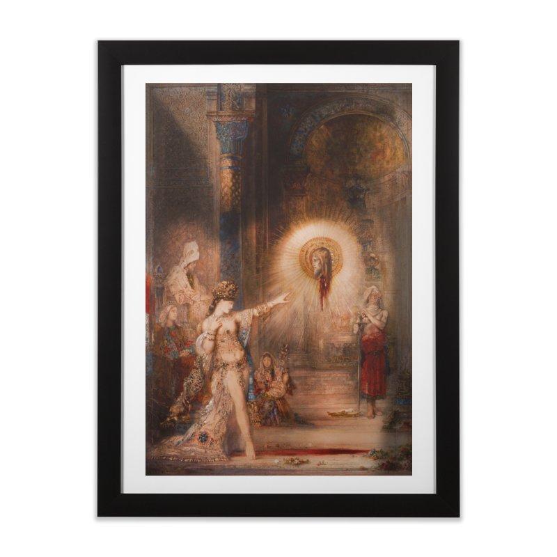 Vivid Retro - The Apparition Home Framed Fine Art Print by lostsigil's Artist Shop
