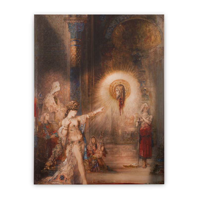Vivid Retro - The Apparition Home Stretched Canvas by lostsigil's Artist Shop