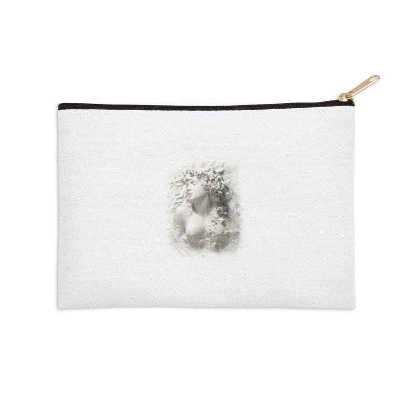 Vivid Retro - Ophelia Accessories Zip Pouch by lostsigil's Artist Shop