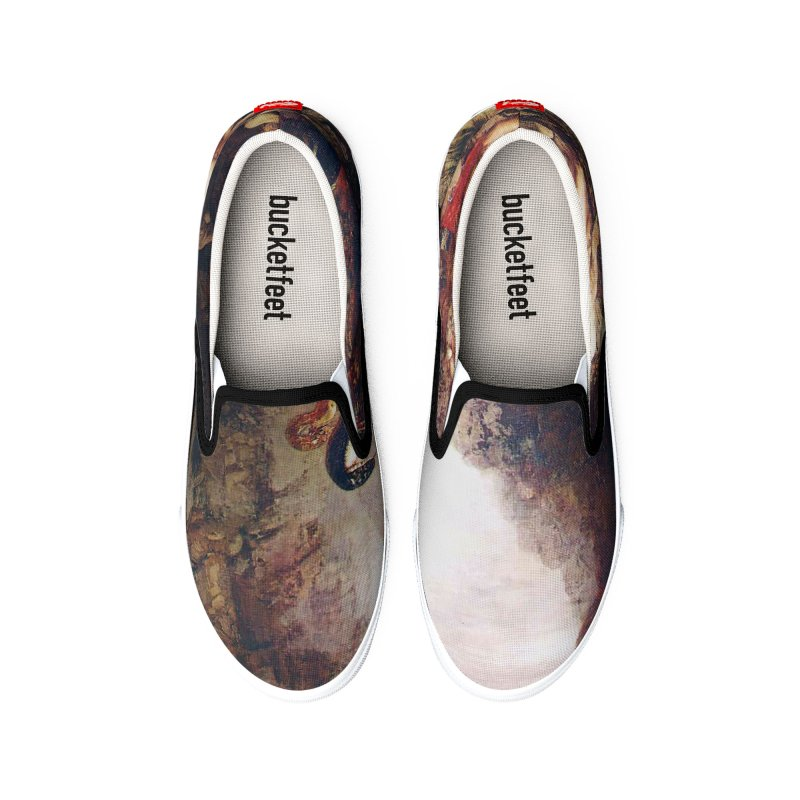 Vivid Retro - Hercules and the Lernean Hydra Women's Shoes by lostsigil's Artist Shop