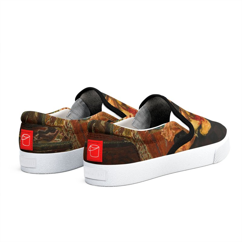 Vivid Retro - Ivan the Terrible and His Son Ivan Women's Shoes by lostsigil's Artist Shop