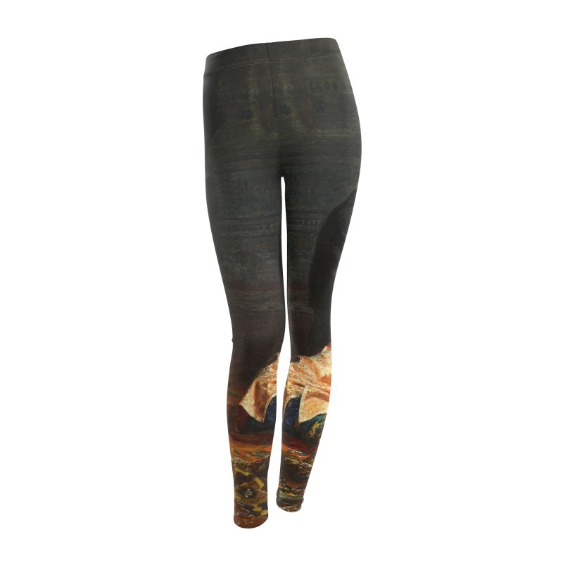 Vivid Retro - Ivan the Terrible and His Son Ivan Women's Leggings Bottoms by lostsigil's Artist Shop